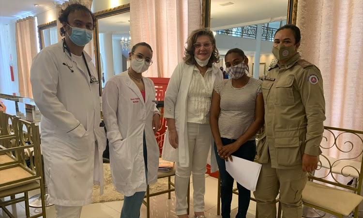 Patrulha Solidária oferece dia de beleza para mulheres vulneráveis