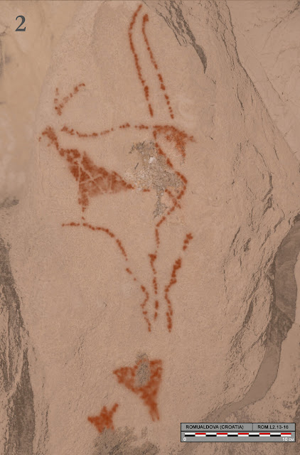 Archaeologists identify first prehistoric figurative cave art in Balkans