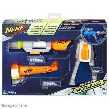 Bộ Phụ Kiện Súng Nerf - ống nhắm, chân súng, nòng súng