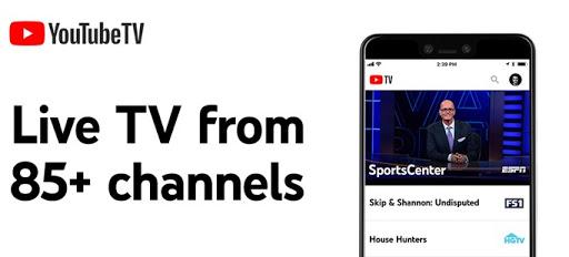 تطبيق YouTubeTV