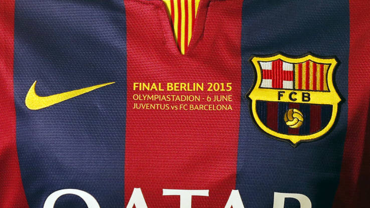 finest selection 28a22 a038c Barcelona 2015 Champions League Final Shirt Revealed ...