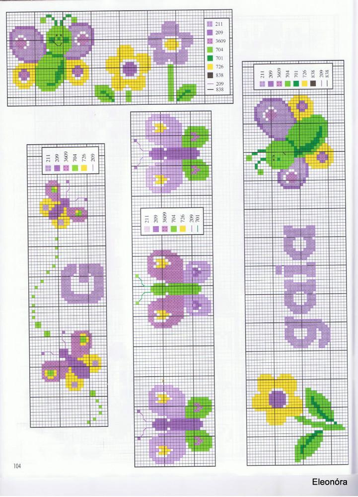 Schemi punto croce per bavaglini asilo ws45 regardsdefemmes for Idee per punto croce