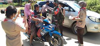 Kampanye 5 M, Ini Langkah TNI-Polri di Kecamatan Belitang