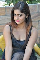 Pragya Nayan New Fresh Telugu Actress Stunning Transparent Black Deep neck Dress ~  Exclusive Galleries 078.jpg