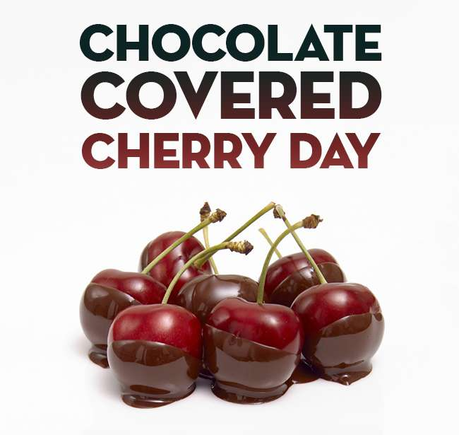National Chocolate Covered Cherry Day Wishes Pics