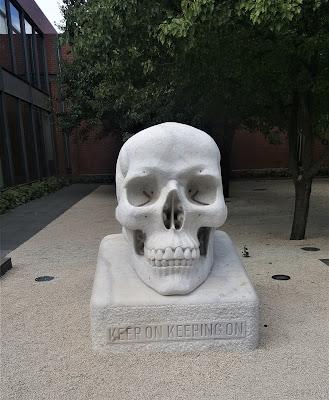 Bendigo Public Art   'Sometimes the dead are more alive than the living' by Alex Seton