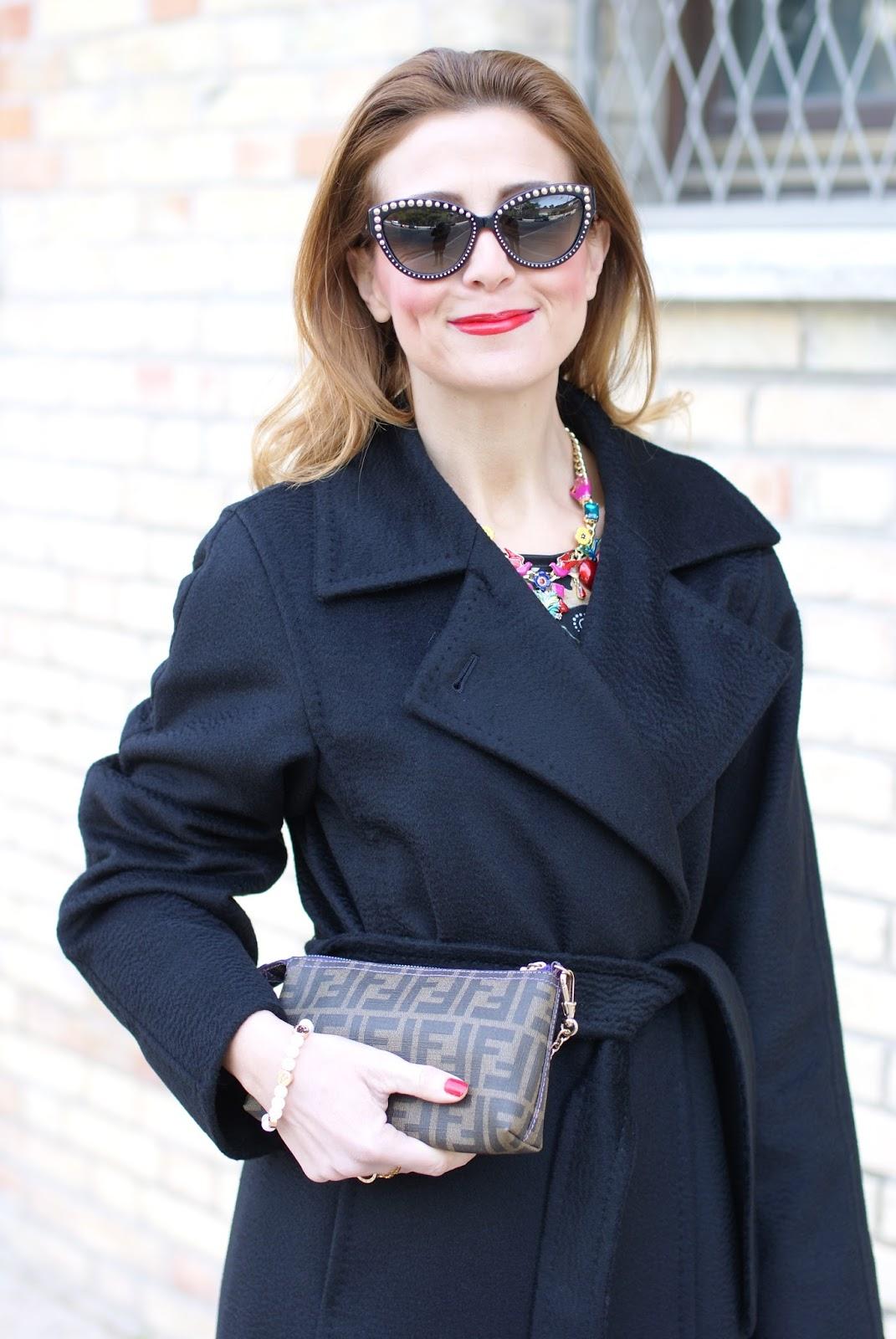 1706bdf554f1 The perfect black coat  Max Mara Manuela coat
