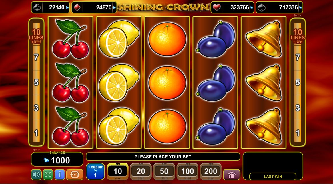 de online slots crown spielautomat
