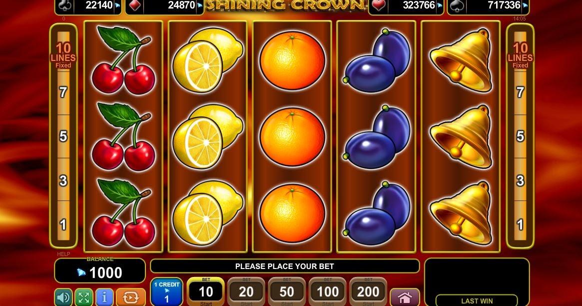 Shining Crown Slots