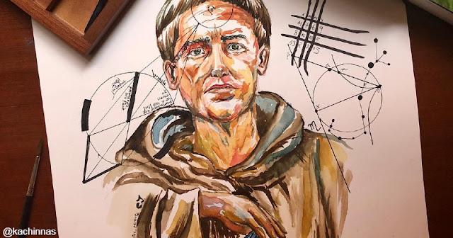 Roger Bacon, salah seorang Biarawan Fransiskan sekaligus Ilmuwan yang sangar berpengaruh pada abad petengahan