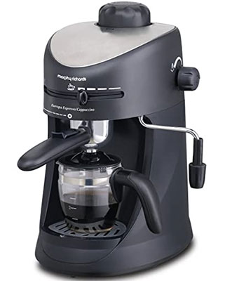 Morphy Richards Espresso and Cappuccino Coffee Maker: eAskme