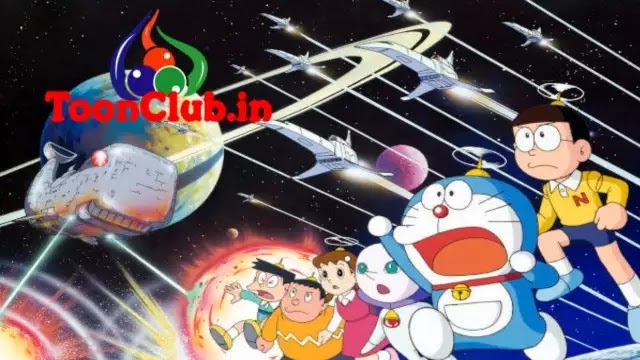 Doraemon The Movie Nobita Little In Space War In Hindi Dubbed Download Free