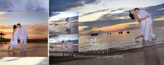 ROMANTIC PHOTO WITH EXOTIC NATURES OF BALI (for couple, honeymooner or wedding anniversary)