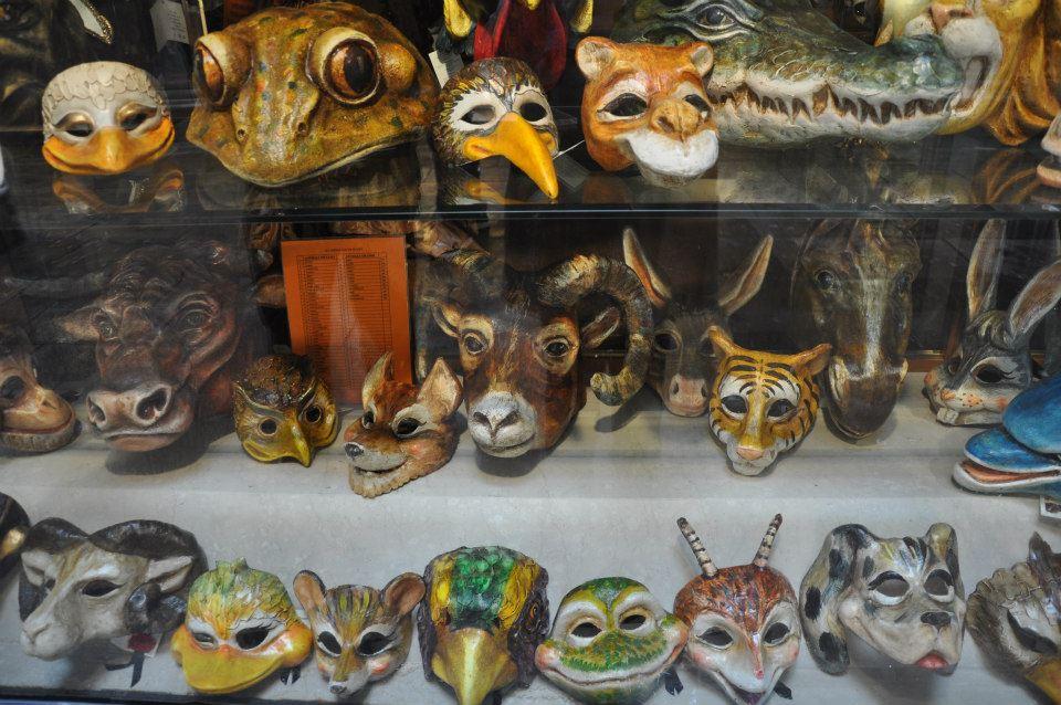 Masks, Venice Carnival 2013, Venice, Veneto, Italy