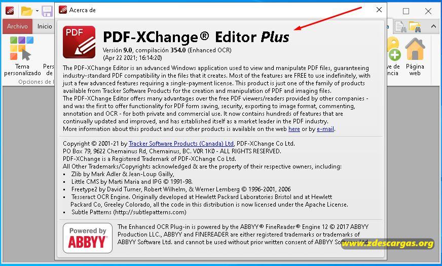 PDF-XChange Editor Plus Full Español