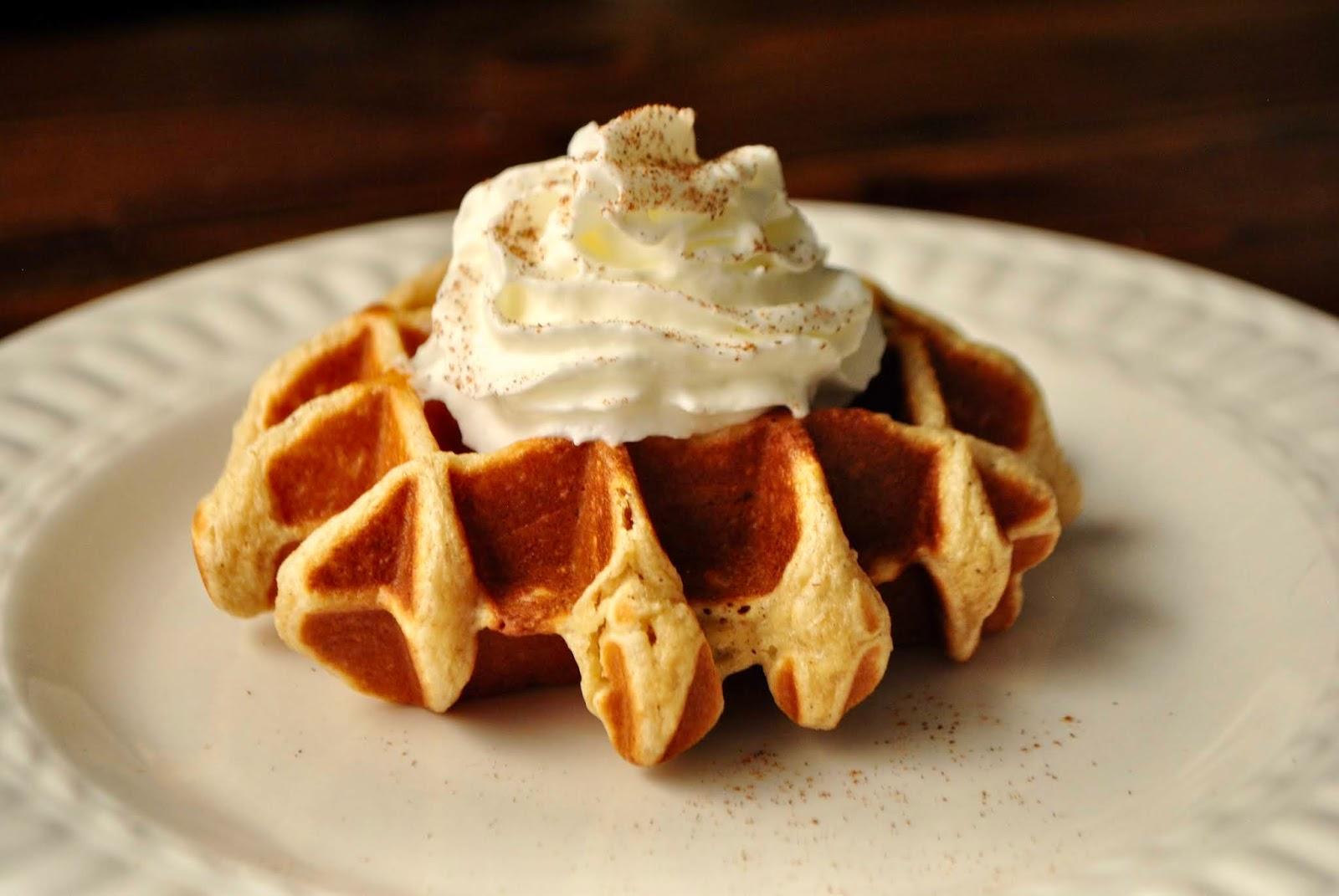 Blender Protein Waffles (Gluten Free)