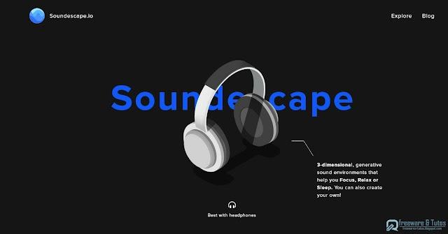 Soundescape : créez en ligne des environnements sonores pour se relaxer, se reposer ou se concentrer