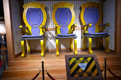 Marine Admirals' seats of power at Tokyo One Piece Tower
