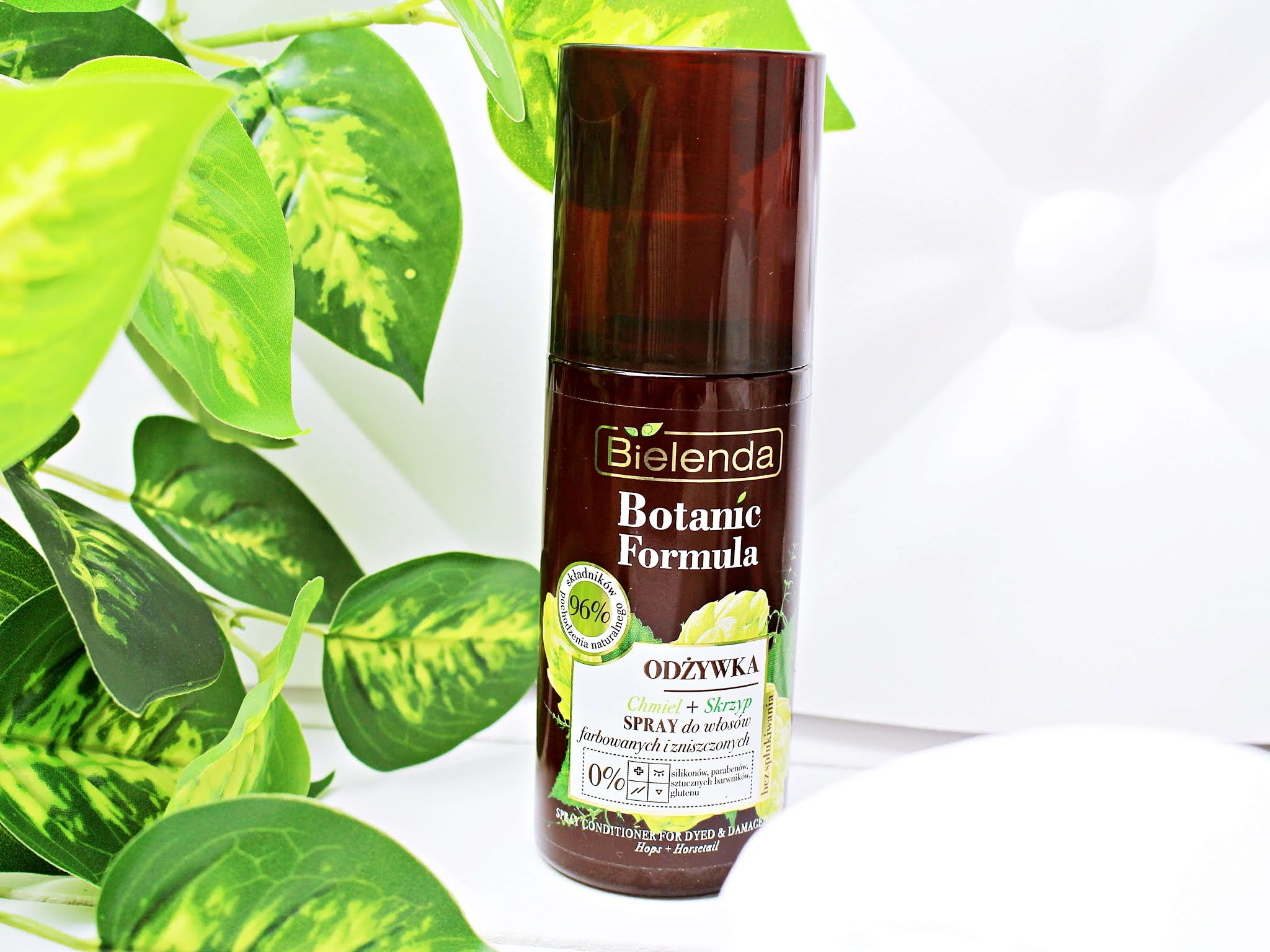 Bielenda Botanic Odżywka w sprayu do Włosów Farbowanych i Zniszczonych