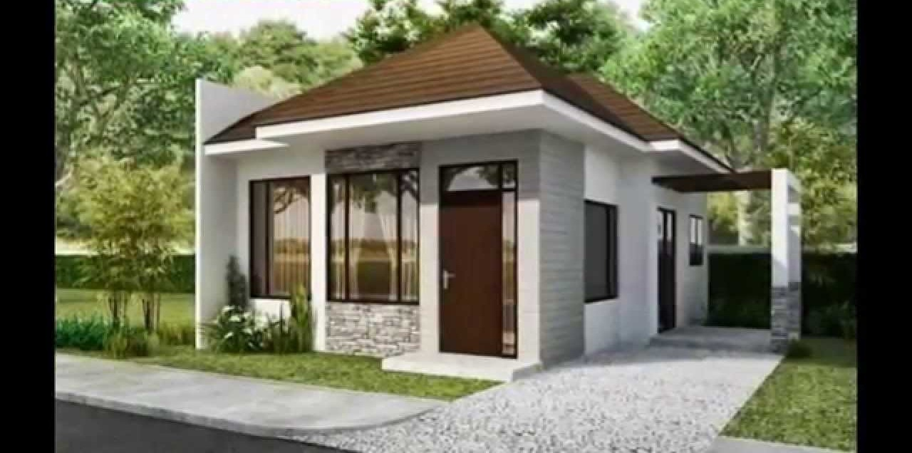30 minimalist beautiful small house design for 2016 for Simple modern tiny house