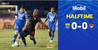 HT: Persib Bandung vs Kalteng Putra 0-0 Highlights #PersibDay