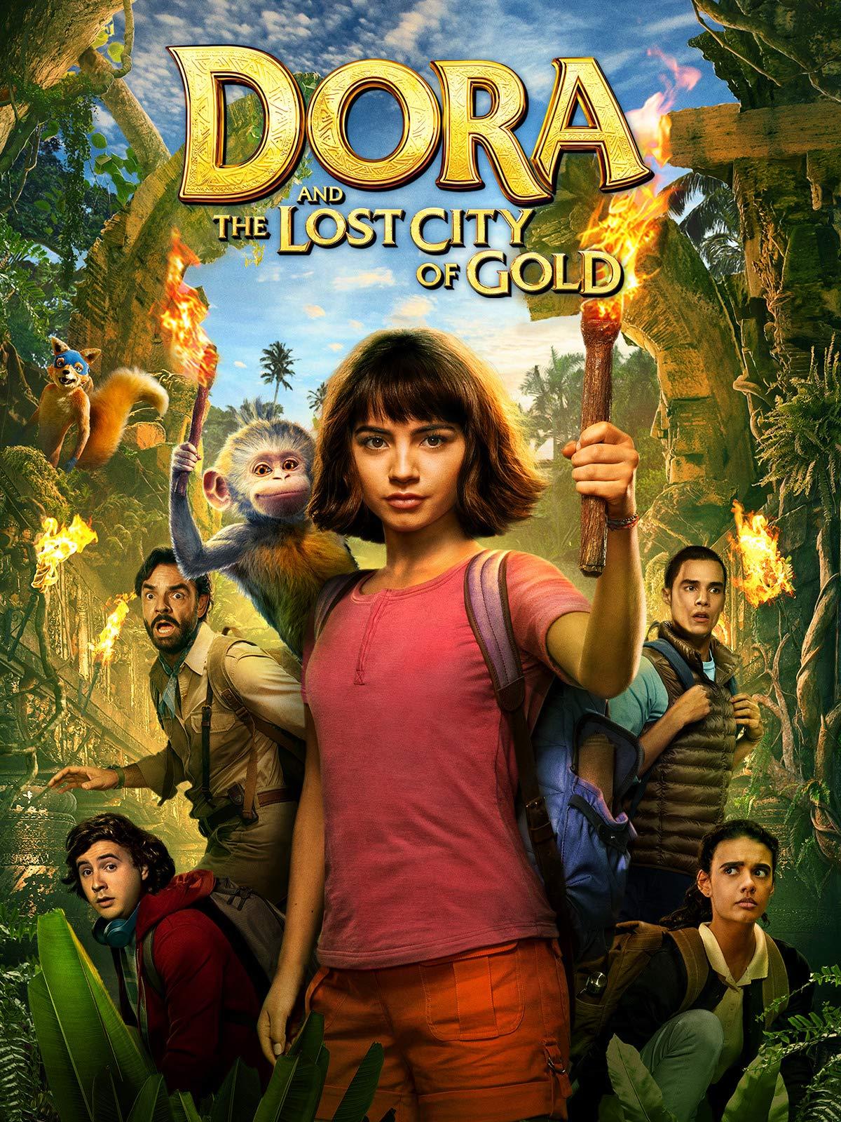 Dora Và Thành Phố Vàng Mất Tích - Dora and the Lost City of Gold