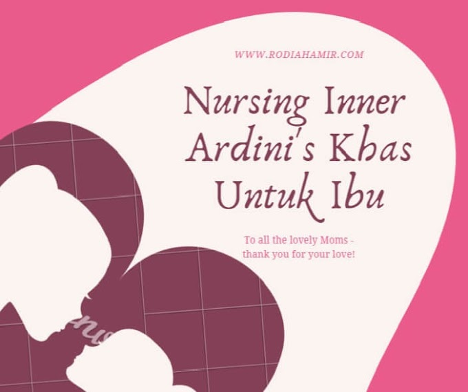 Nursing Inner Adrini's Sleveless Praktikal & Multifunctional