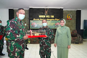 Pejabat Baru Dandim 1606/Lobar, Kolonel Arm Gunawan, S.Sos. M.T.,
