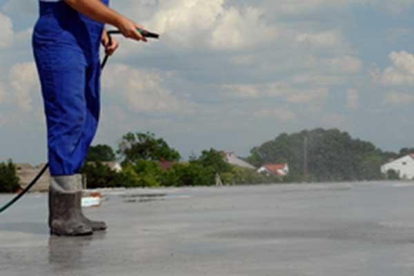 Perawatan Beton Dengan Penyiraman Air
