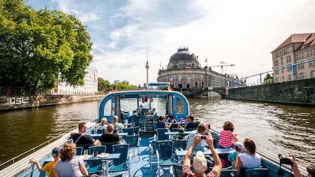Informações do passeio de barco pelo Rio Spree