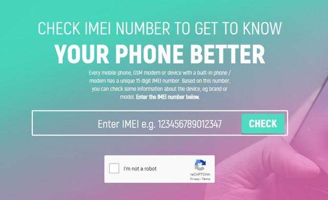 Cara Cek Nomor IMEI