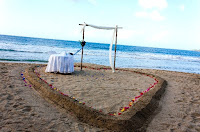 Tobago Beach Wedding Example