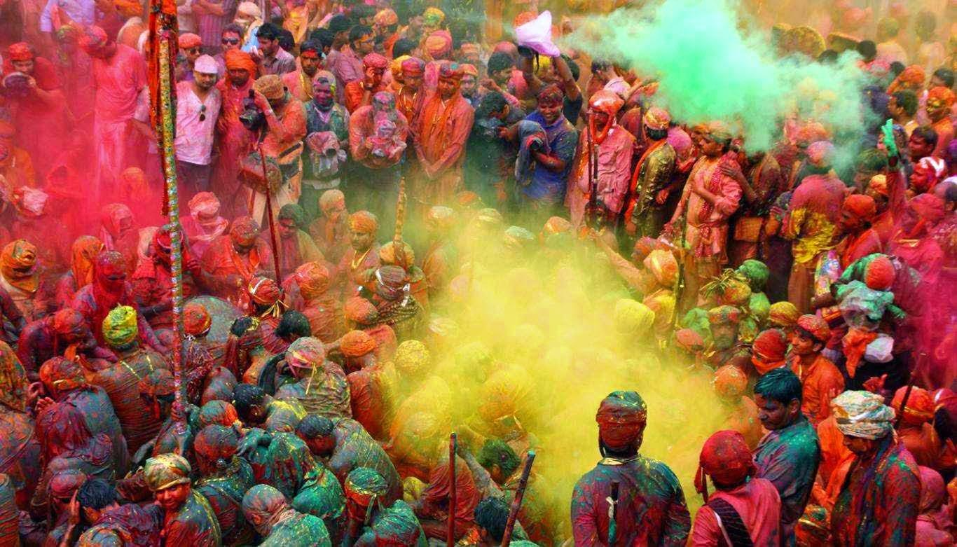 Gerrys Blog Den Fruhling Begrussen Das Indische Holi Festival