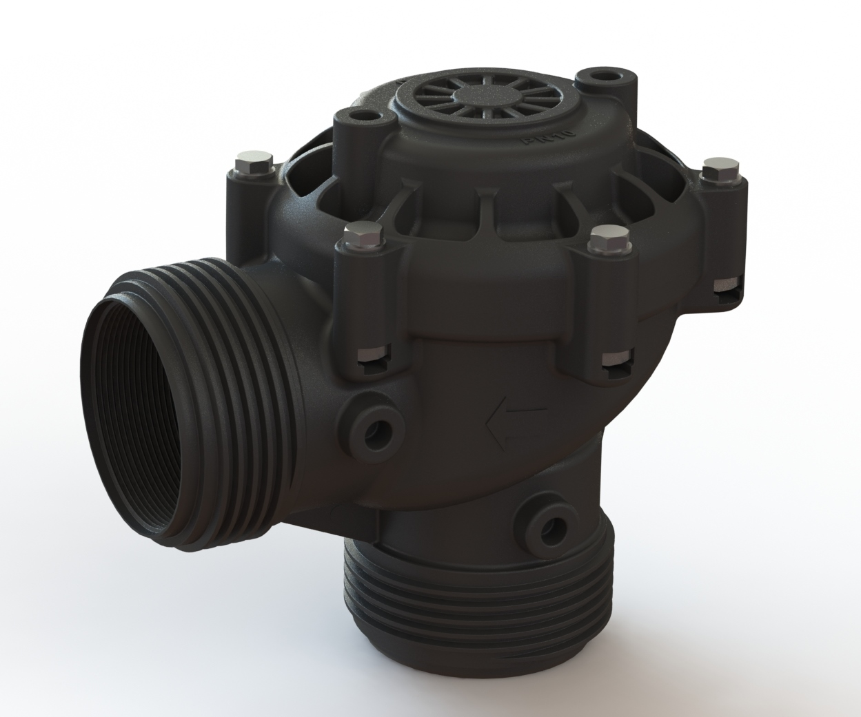 Dorot's New Agricultural Hydraulic Valve : 80A Angle Valve