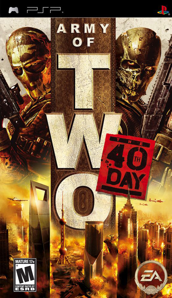Army of Two - The 40th Day  - PSP - ISO Download