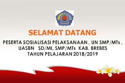 Download Materi UN Dan USBN Untuk SD SMP SMA Tahun 2018/2019