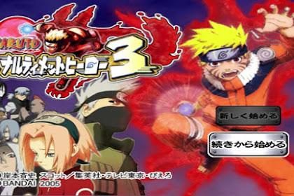 Get Free Download Game Naruto Ultimate Ninja 3 for Computer PC or Laptop