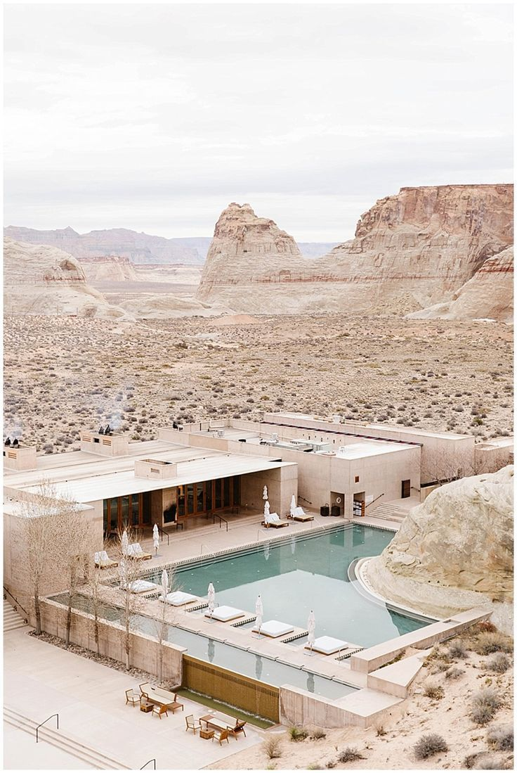 Weekday Wanderlust | Places: The Amangiri, Canyon Point, Utah