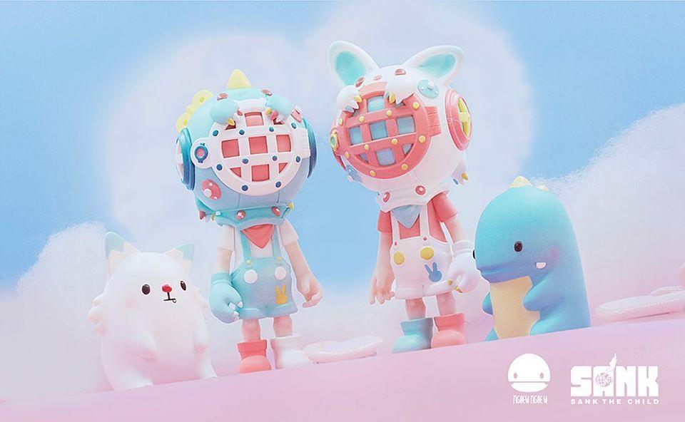 Little Sank Spectrum Dark Cute Fantasy version by Sank Toys In Stock Collection