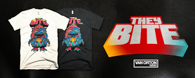 "Critters ""They Bite"" T-Shirt by Van Orton Design x Skuzzles"