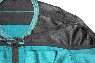 Dr. Pulaski TNG medical smock - yoke trim