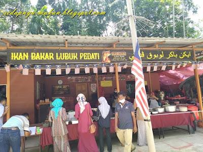 Ikan Bakar Lubuk Pedati, Baling Kedah