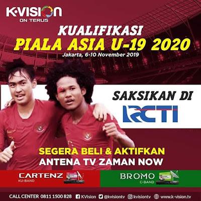 kualifikasi piala asia u 19 di K vision