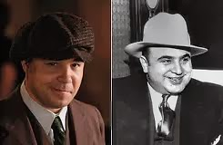 Capone real y en la ficción - Boardwalk Empire