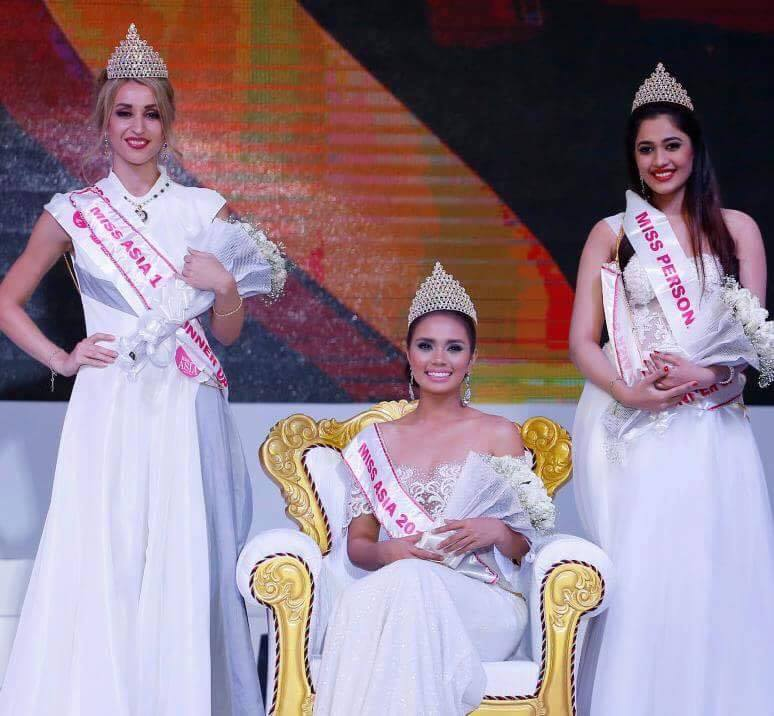 Miss Philippines Trixia Maraña Wins MISS ASIA 2016! - Pageanthology_101