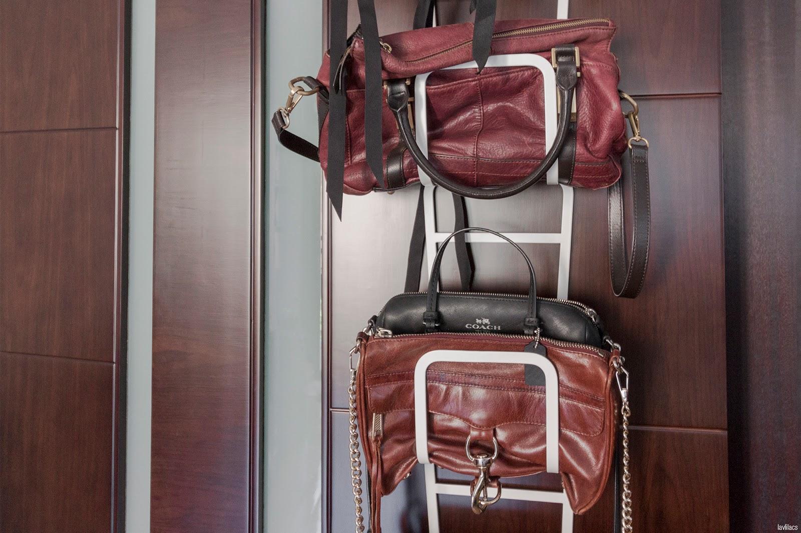 lavlilacs bags reorganizing