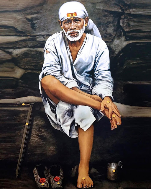Sai baba white clothes wear images 2020