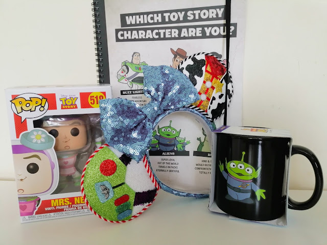 Toy Story prizes from the giveaway