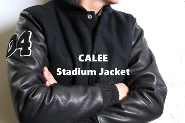 "CALEE ""Stadium Jacket"" Price:73,440yen"