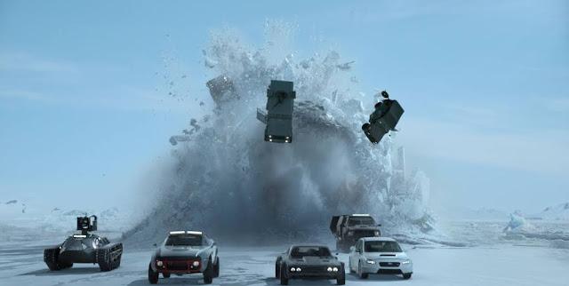 『ワイルド・スピード ICE BREAK』(画像:東急レクリエーション提供資料より)